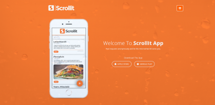 3io Studio Project Scrollit -- Scriollit is a social business mobile application where anonymous clients can post request for quick and easy solution from the community. The includes messaging, commenting, posting and automatically matching your request to the best possible artisan for a solution. It is available on both Android and Ios. Post requests anonymously and let the internet/world serve you.