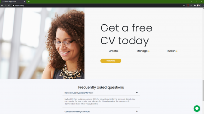3io Studio Project My Quick Cv -- Quick and easy to use CV Builder. A flexible CV builder that lets you fill in your relevant experience, education and skills.