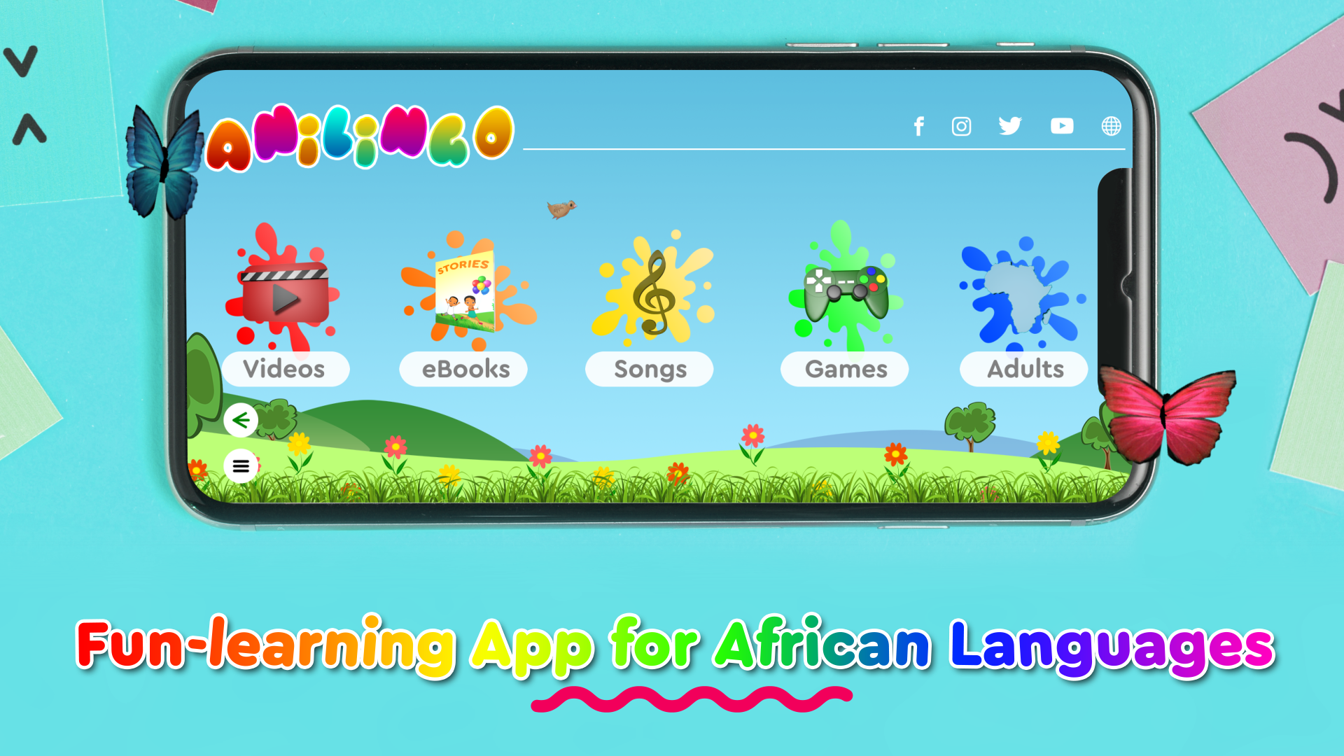3io Studio Project Anilingo -- Watch, play, and learn African languages with our interactive Anilingo™ mobile app, the best African language learning platform!